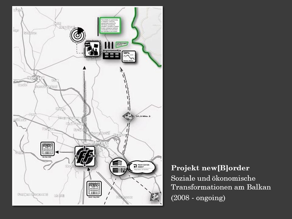 Projekt new[B]order Soziale und ökonomische Transformationen am Balkan (2008 - ongoing)
